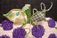 Add dimensional, shapable vines on needlepoint