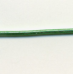 #7 Bullion Brilliant (Smooth Purl) - Green 20.5""