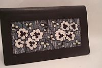 Floral Needlepoint Wallet