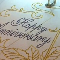 VIDEO:  Machine Embroidery On Cards