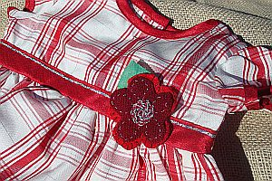 Little Girls' Peppermint Dress