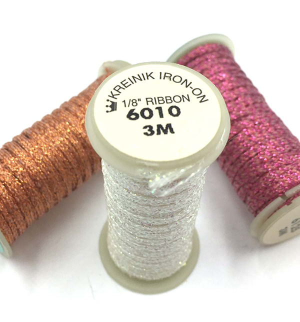 "Iron On 1/8"" Ribbon"