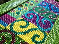 Stitch Guide for Lee Squiggles Needlepoint