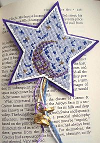 Holographic Star Bookmark