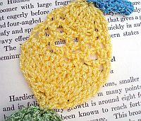 Easter Egg Crocheted Bookmark