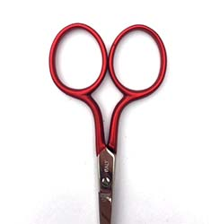 "X305 Premax® red handle 3.5"" embroidery scissor"
