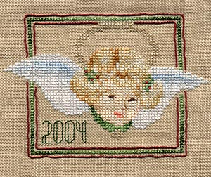 2004 Kreinik Angel Ornament