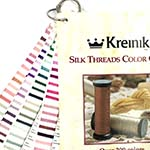 Kreinik Silk Thread Color Card