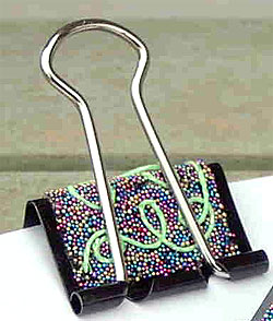 Embellished Binder Clips