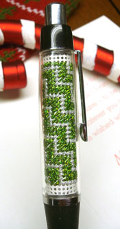Evergreen Stitch A Pen Kit