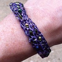 VIDEO:  Using Clover French Knitter with Kreinik Threads