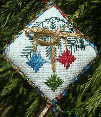 Holographic Holiday Ornament