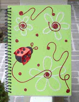 Lady Bug Notebook