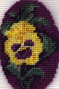 Friendship Pansy - Silk Gauze Kit