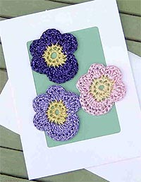 Pansies Greeting Card (Intermediate)