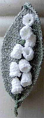 Lily Of The Valley Barrette or Pin