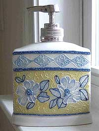 Beaded Soap Dispenser