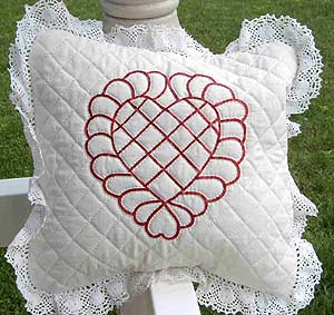 No-Sew Quilted Pillow