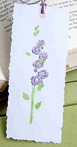 Secret Sister Flower Bookmark