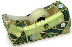 """Quilted"" Tape Dispenser"