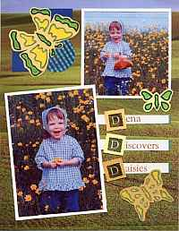 Scrapbook Stencil Project