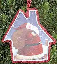 Easiest Christmas Ornaments #1