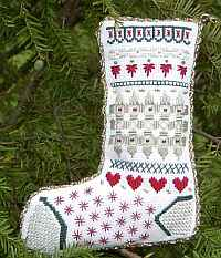 Beautiful Stitches Stocking