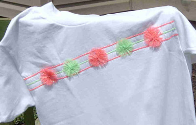 No-Sew T-Shirt With A Glow