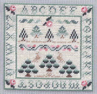 Miniature Christmas Sampler