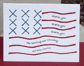 Veterans Day Appreciation Card