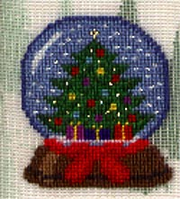 Christmas Tree Globe - Silk Gauze Kit