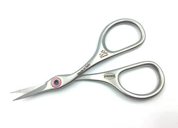 "X302CS Premax® 3 3/4"" Curved Embroidery Scissors - Stainless Steel"