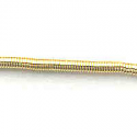 #2 Bullion Brilliant (Smooth Purl) - Gold 33""