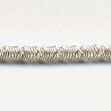 Faconnee #13 Brilliant Crimped Purl Silver 7.5""