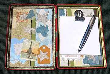Altered Clipboard Project Interior