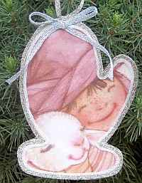 Easy Recycled Christmas Ornaments 3 Baby