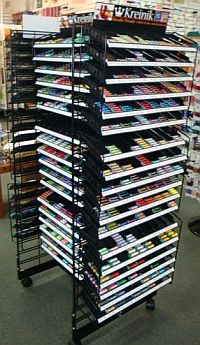 multi rack display