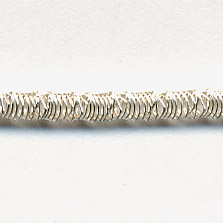 Faconnee #13 Brilliant Crimped Purl Silver 30""