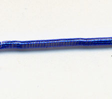 #7 Bullion Matte (Rough Purl) - Blue 10.25""