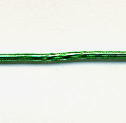 #7 Bullion Matte (Rough Purl) - Green 10.25""