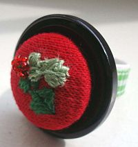 Holly Berry Ring