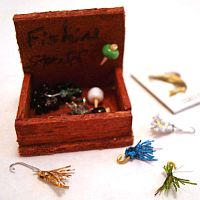 Miniature Fishing Tackle Box