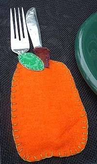 Pumpkin Pocket Placemat