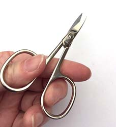 """X371CL Premax® 3 1/2"""" Left Hand Curved Embroidery Scissors"""