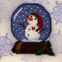 Let It Snow Globe - Silk Gauze Kit