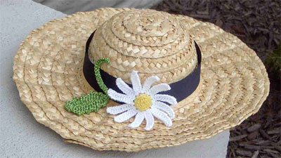 Daisy Trim Hat