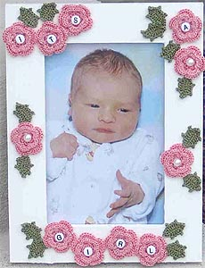 Irish Roses Picture Frame