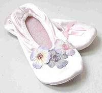 Decorated Ballet Slippers