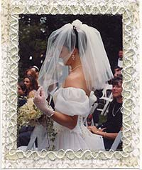 Wedding Scrapbook Photos