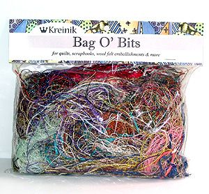 Metallic Bag O' Bits- Small